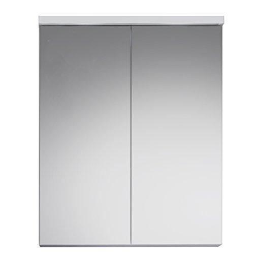 Trendteam Camerino de baño con espejo Espejo Nightlife, 65 x 80 x 21