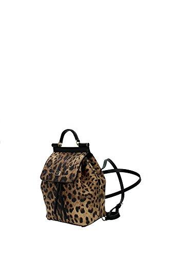 BB6099A71588S193 Dolce&Gabbana Sac à dos Femme Tissu Beige Beige