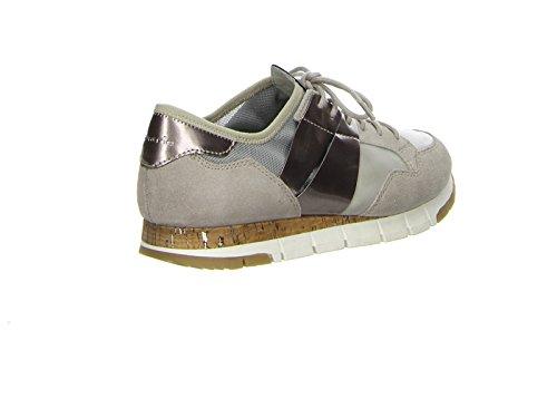 Tamaris 23615-28 238 Damen Sneaker Lack- und Stretch-Einsätze leichte Laufsohle - 3