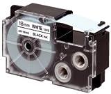 CASIO EZ-Label Printer XR-9X1 Schriftband selbsthaftend 9 mm x 8,0 m schwarz auf transparent
