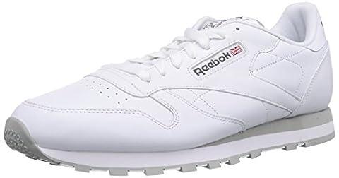 Reebok Classic Leather, Herren Sneakers, Weiß (Int-White/Lt. Grey),