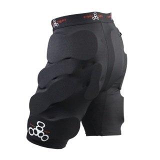Triple 8–Schutz Skate Shorts bumsavers–Größe: One Size schwarz S