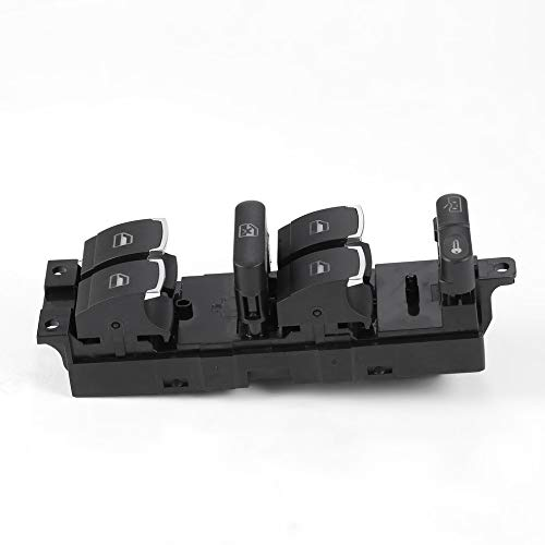 fengwen66 1PCS Car Power Window Switch for VW Golf Jetta MK4 Passat Control Switch(Black)