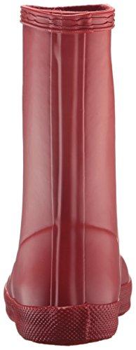 Hunters First Classic Welly W24133, Bottes de pluie mixte enfant Rouge militaire
