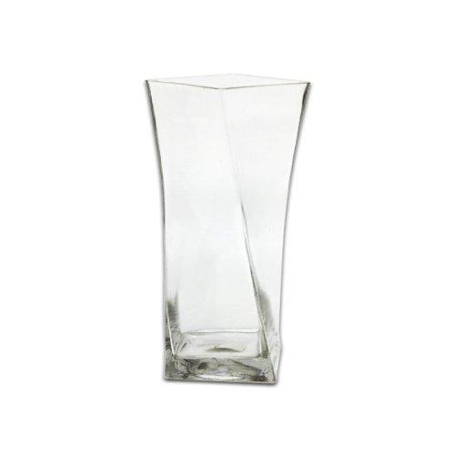 25,4cm Twisted quadratisch Vase (Hocking Vase Anchor)
