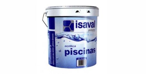 Piscina Isaval-VernicePittura acrilica per piscine, 5 K, colore: blu