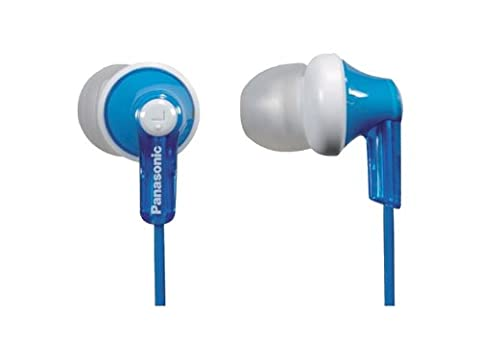 Panasonic RP-HJE120-A In-Ear Earbud Ergo-Fit Headphone (Blue)