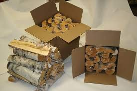 (offerta per natale) legna da ardere di ulivo in scatola da 20 kg, diametro da 2 cm a 15 cm circa, lunghezza 25/35 cm circa