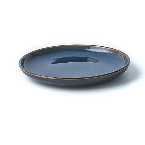schirr Set Kreativ Geschirr Teller fünfteilig Set Ofenwechsel 17,4x2cm ()