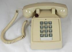 Cortelco 250044-Vba-27m Desk Phone With Message - Ash by Cortelco -