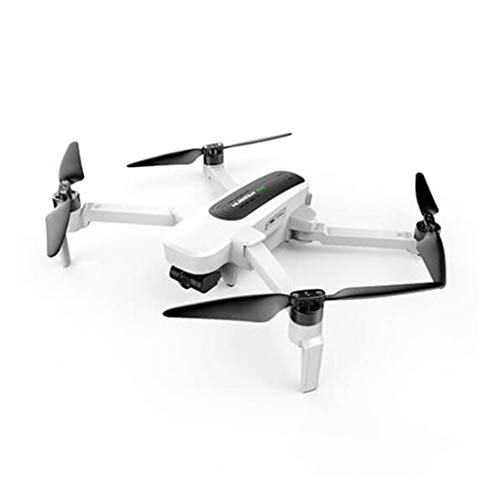 Yooshen Hubsan H117S Zino Drohne mit Kamera 4K live übertragung WiFi FPV RC Dreiachsiger Gimbal mit 2 Batterien, One Key Start/Landung Pocket Drohne Kopflos-Modus (Weiß)