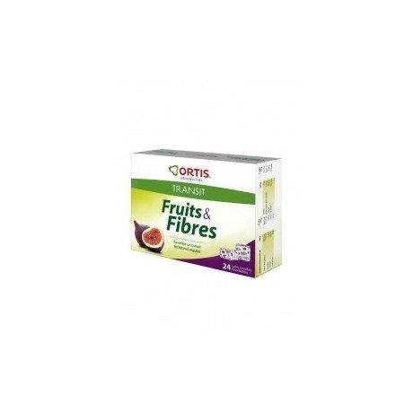 ORTIS Fruits & Fibres offre 24+12 cubes à macher offerts