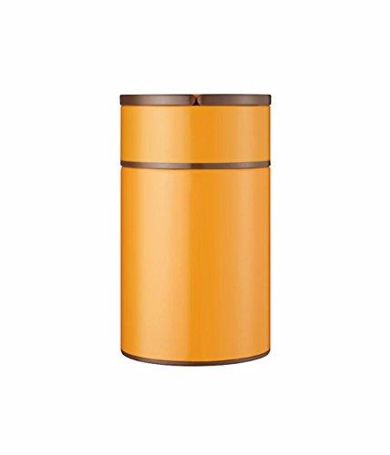 MDRW-Großer Kapazität, Edelstahl, isoliert Brei Fässer, verstopfte Becher, Topf, schwelende tank,Gelb 1000ml
