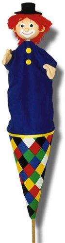 Trullala 11045 - Clown blau, Tütenkaspar