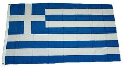 Flaggenking Griechenland Flagge/Fahne - wetterfest, mehrfarbig, 150 x 90 x 1 cm