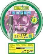 Ribiland - prtg50v19 - Tuyau guipe Vert translucide 50m 19mm tubidro