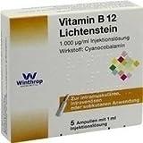 Vitamin B12 1000 [my]g Lichtenstein Ampullen 5X1 ml