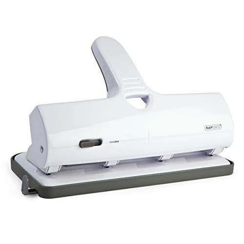 Rapesco Alu 40 - Perforadora gruesos 4 agujeros 40