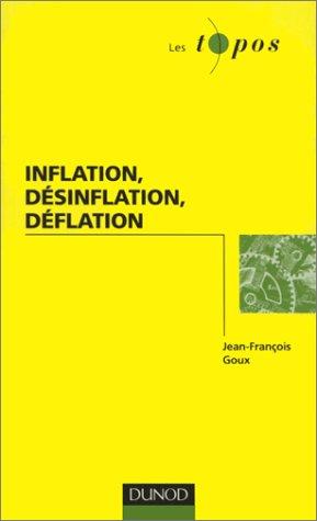 Inflation, dsinflation, dflation
