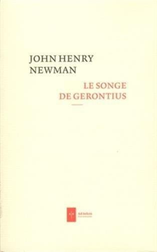 Le Songe de Gerontius par John Henry Newman