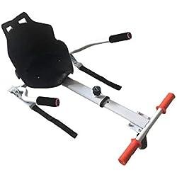 Maxfind Hoverboard Accessoires Chariot Fixe Mini Go Kart avec Rouge et Blanc Noir pour 2 Roues Scooter équilibrant 6,5 '' 8 '' 10 '' pour Enfants Adultes