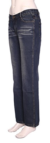 Lets Shop Shop -  Jeans  - Straight  - Donna Dark Blue
