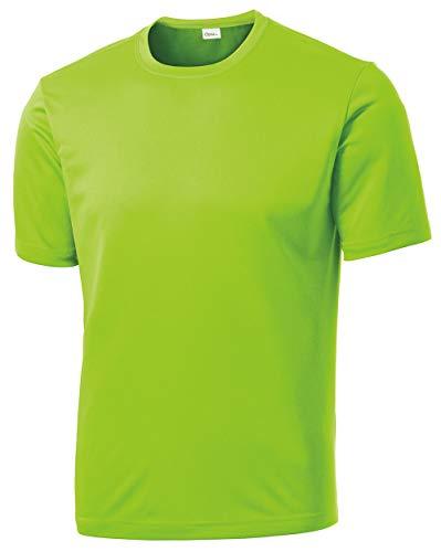 Opna Herren T-Shirt, langärmlig, feuchtigkeitsableitend, Gr. XL - Grün - 4X-Large Regulär -