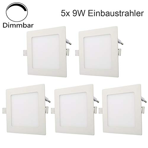 mit Thermostat Elbe RNS-C06 Conjunto de ducha Quadratische /Überkopfbrause