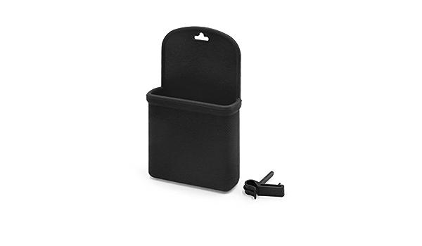 1 Stück Schwarz Silikon Auto Handy Tasche Aufbewahrungstasche Halter Mit Haken De De Auto