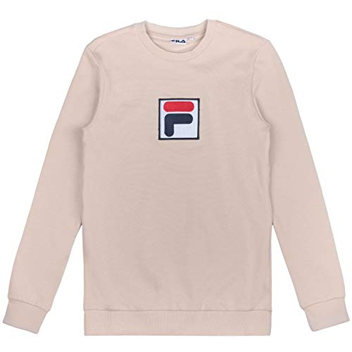 Fila Rian Crew Sweatshirt Beige Smoke Grey (M)