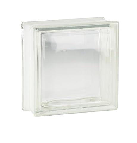 5 Pieces Fuchs Glass Blocks Clearview Clear 19x19x8 cm