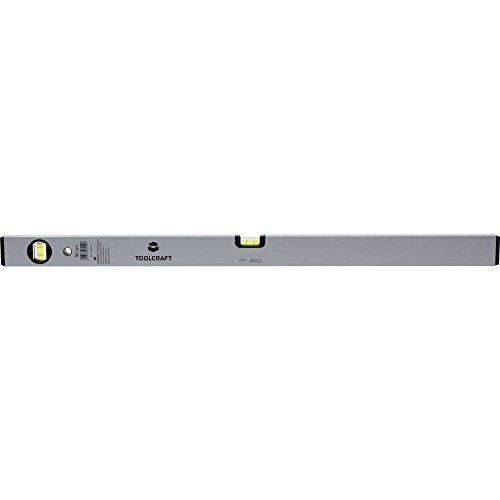 TOOLCRAFT 1244219 1244219 Leichtmetall-Wasserwaage 200 cm 1 mm/m