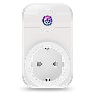 Wifi Steckdose, ELEGIANT Smart Wifi WLAN Home Steckdose intelligente Funksteckdose Wifi Adapter + eFamilyCloud App Switch mit Timing Funktion Unterstützt Amazon Alexa (Echo, Echo Dot)