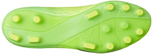 Puma Evospeed 17.4 Ag, Chaussures de Football Homme Jaune (Safety Yellow-puma Black-green Gecko 01)