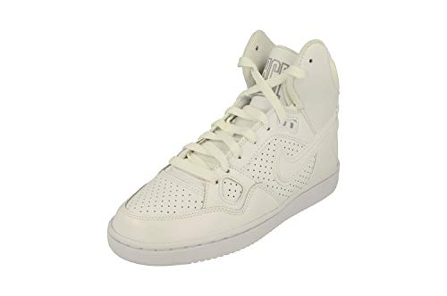 Nike Damen WMNS Son of Force Mid Basketballschuhe, Weiß White/Wolf Grey 110, 42 EU