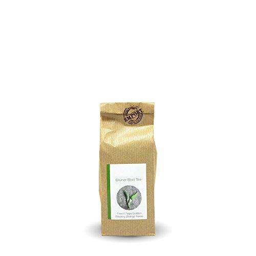 Grüner Blatt-Tee 100g aus zertifiziertem EM® Bio-Anbau aus Nepal / FTGFOP (Fine Tippy Golden Flowery Orange Pekoe)