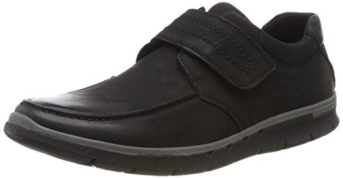 Hush Puppies Duke, Mocasines Hombre, Negro Black