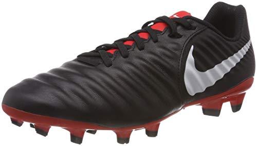 Nike Tiempo Legend VII Academy Fg, Scarpe da Fitness Uomo, Multicolore (Black/Pure Platinum/Lt Crimson 006), 42 EU