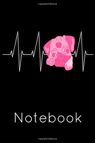 Notebook: Pug Homework Book Notepad Notebook Composition and Journal Diary por Retrosun Designs