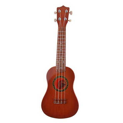 FLAMEER Kinder Ukulele Hawaii Gitarre Musikinstrument Spielzeug, Geschenk für Geburtstag und Weihnachten - Stil A
