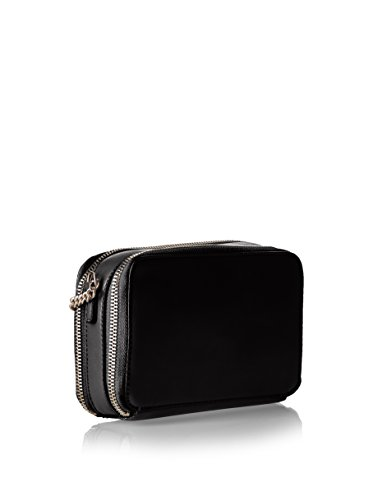 GUESS Quilted small shoulder bag INES Black