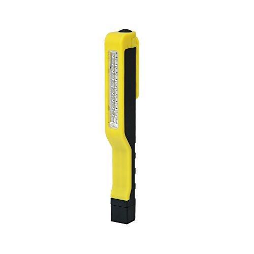 Preisvergleich Produktbild Superhelle LED Taschenlampe, Power Lampe, LED Arbeitsleuchte Penlight 10 LEDs mit Magnethalter