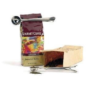 Nouveau - Cuillère doseuse à café 15 g RSVP en inox avec clip