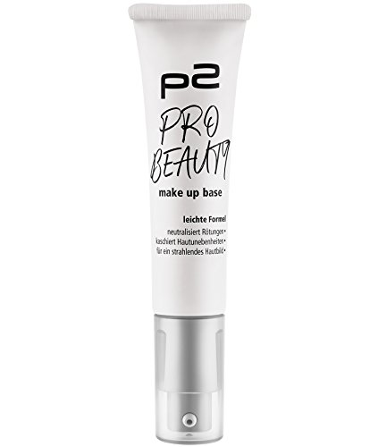 p2 cosmetics Pro Beauty Make Up Base, 3er Pack (3 x 30 ml)