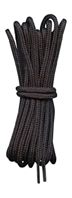 Lacets pour Chaussures de randonnée Noir 4mm diametre Longueur 110cm