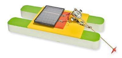 Preisvergleich Produktbild matches21 Katamaran Boot Modell mit Solarantrieb Elektroantrieb Bausatz f. Kinder Werkset Bastelset ab 12 Jahren
