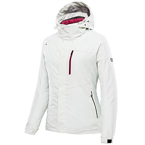 3123W MxqwL. SS500  - Zilee Women Outdoor Warm Jacket - Windproof Waterproof Ski Coat Breathable Windbreaker 3 in 1 Snow Suit Fleece Inner for Skiing Hiking Mountaineering Traveling