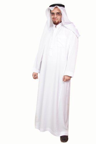 Dreiteiliges Araber Scheich Kostüm Scheichkostüm, Karnevalskostüm - Faschingskostüm- Größe: L , (Trachten Region 1)