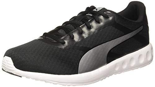 Puma Men's Convex Pro Idp Black-Silver Running Shoes-7 UK (40.5 EU) (8 US) (19319304_7)