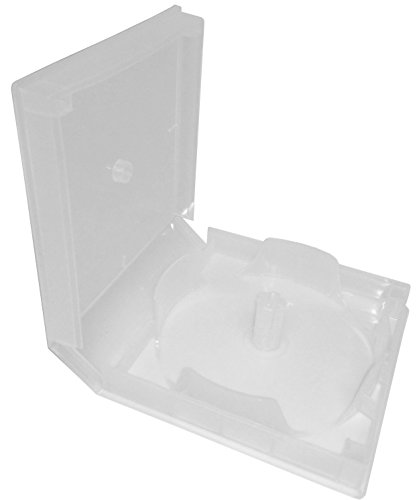5 x 20er CD Spindel-Box unzerbrechlich aus PP transparent mit Außenfolie für bis zu 20 CD/DVD/Blu-Ray Rohlinge und 1 Papier Einleger